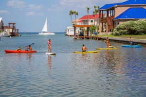 Enjoying the beautiful waters of South Padre Island is a dream come true. Courtesy photos