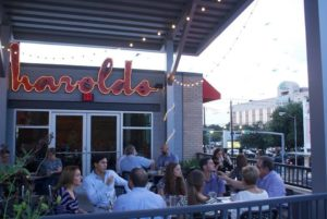 With an amazing atmosphere all around, Harold's is the place to be. Photos courtesy of Harold's