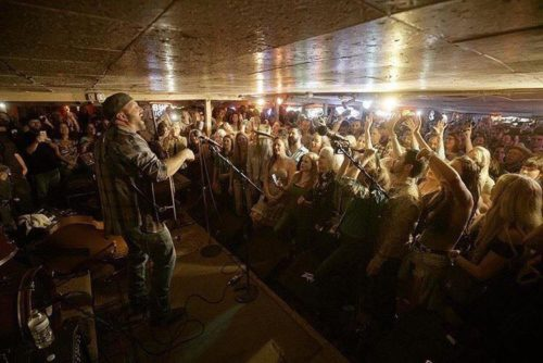 Garth Brooks playing the Broken Spoke Dancehall during SXSW. Courtesy photo