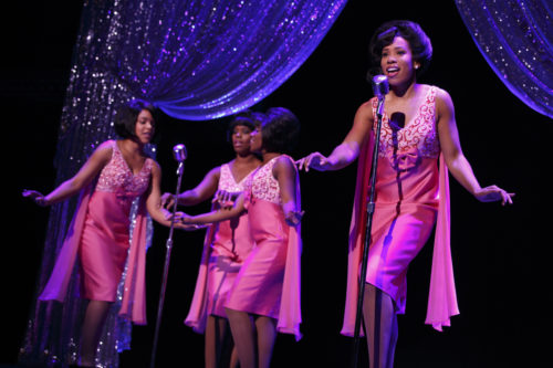 The Shirelles. (l to r) Traci Elaine Lee, Rebecca E. Covington, Rosharra Francis and Salisha Thomas