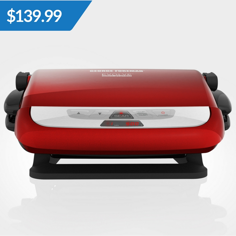 Bonus: The George Foreman Evolve Grill System