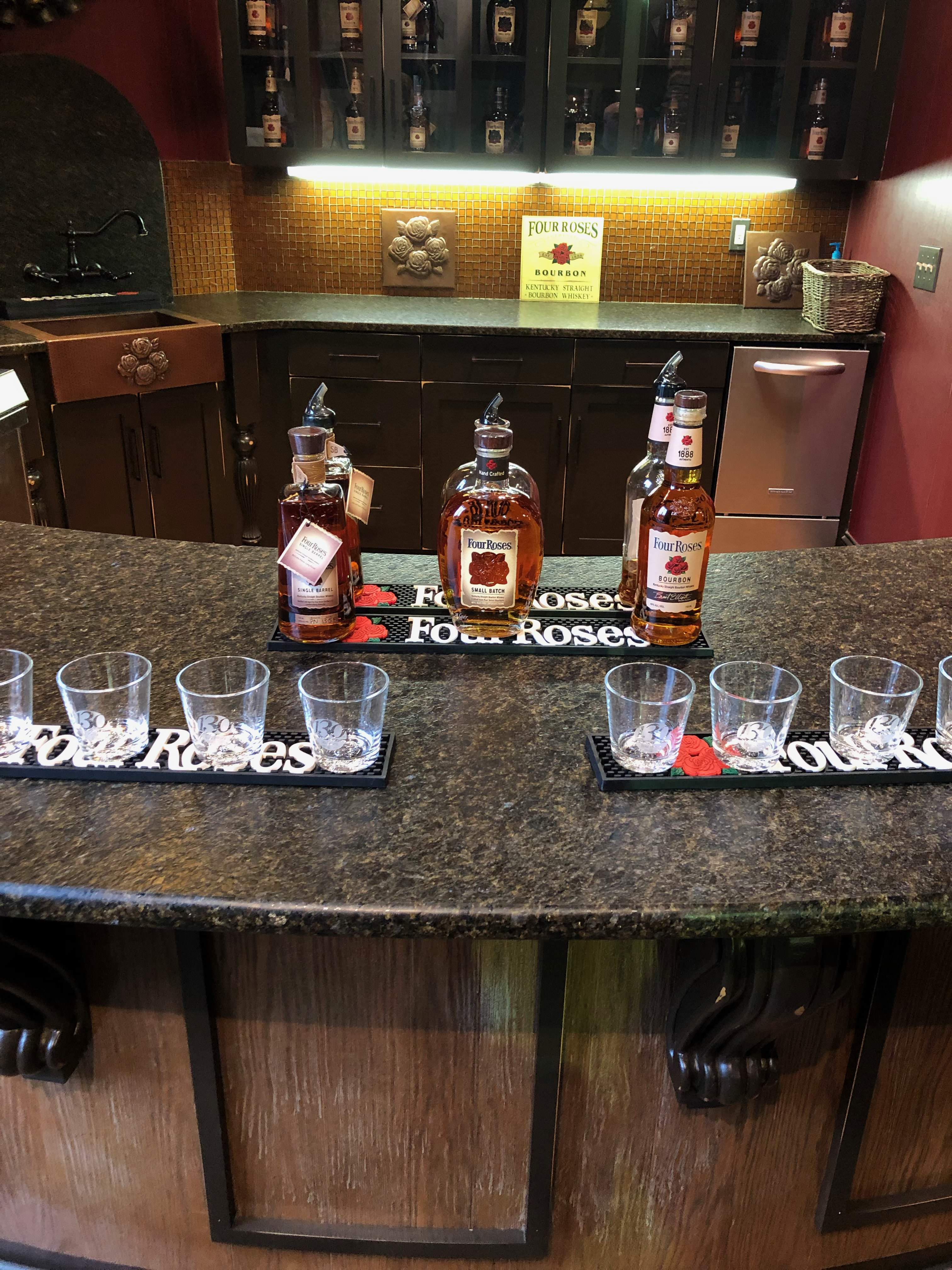 Four Roses tasting suite is sweet